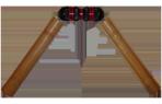 Бизон-1м с длинными ручками (спецназовская серия). Тренажер для рук.